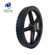14 inch plastic wheel with bearing for lawn mower, baby stroller big, industrial trolley