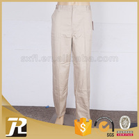 Factory price Solid low price khaki work trousers