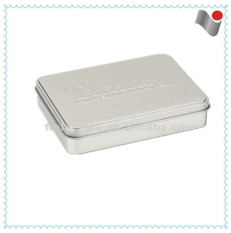 wholesale high quality custom square tabacco tin box