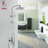 Sanitary fittings brass shower faucet import from China