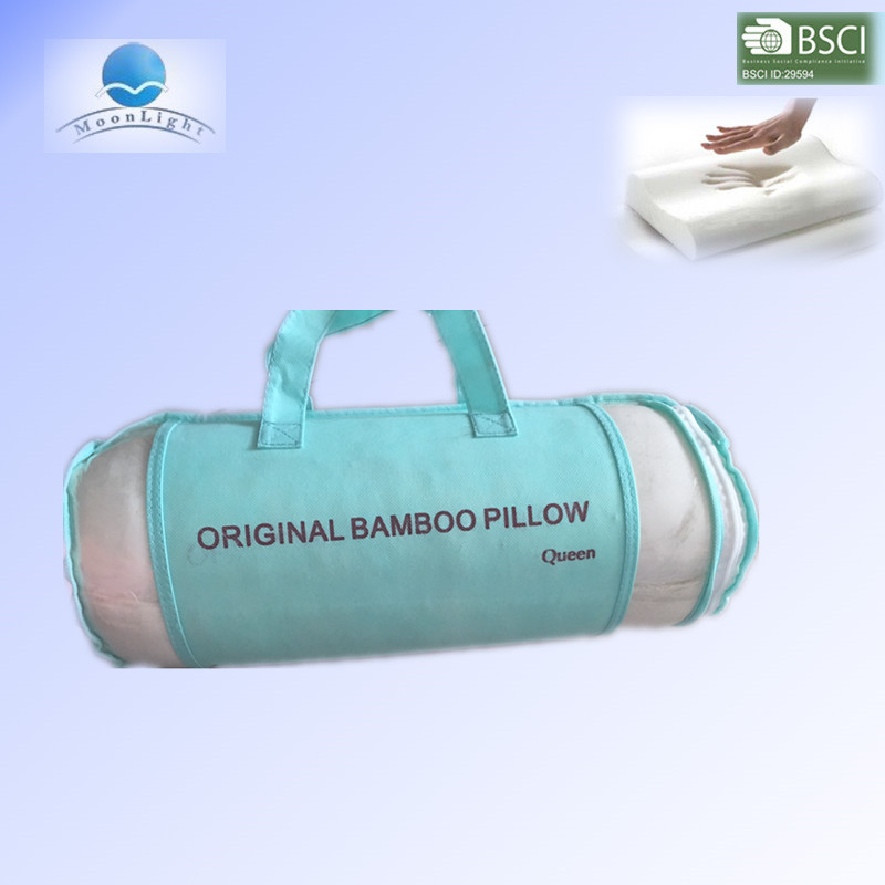Bamboo memory foam pillow for many sizes