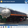 TITAN oil fuel tank semi trailer, heated pitch bitumen tanker trailer, asphalt distributor trucks for sale