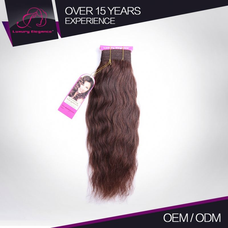 Soft Clean And Soft 2# 100% Natural Human Hair Natural Wave Hair Companies From India