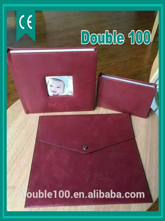 double 100 manufacturer hand made photo album covers with box and windows