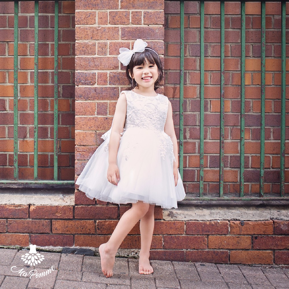 Europe Stylish Luxurious Party Apparel Baby Girl Frock