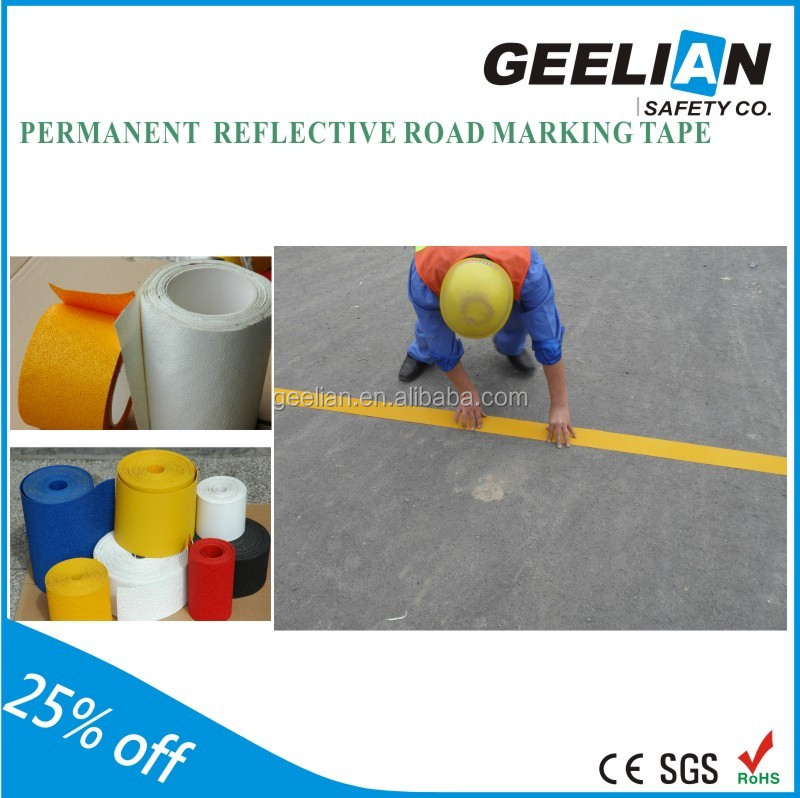 Yellow/White Waterproof reflective Raised Pavement Road Marker