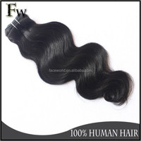 Cheap virgin wholesale brazilian hair weave ,thick end 8A body wave hair extension