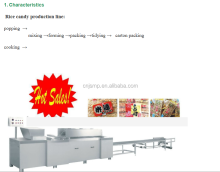 Candy bar machine peanut bar procesor cereal bar production line cutting and forming machine