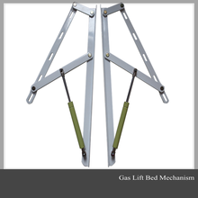 Steel gas lift handle for bed frame (lift up)