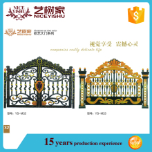 2016 New Product luxury Main gate designs modern latest design aluminum gate house gate
