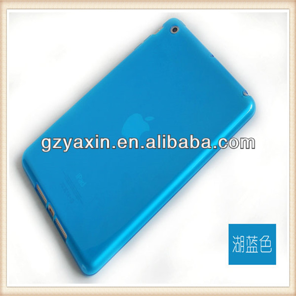 For ipad mini retina case,case for ipadmini, tpu back cover for ipad mini