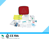 auto first aid kit, Emergency car first aid bag,CE/FDA first aid kit
