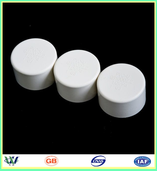 Factory sell inch sch pvc pipe cap