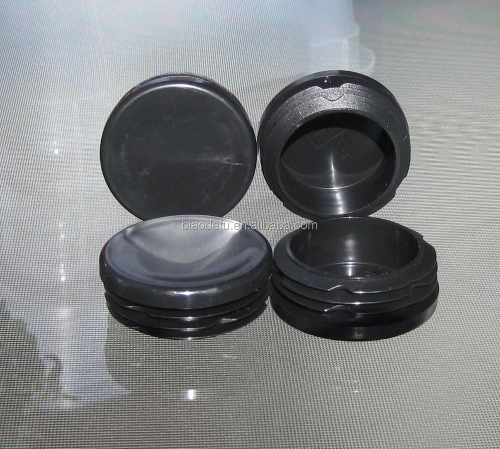 2 Quot Round Tubing Plastic Plug 2 Inch Cap Insert Post Pipe