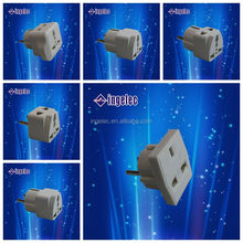 Multi style electric plug lighted electrical plug power adapter travel adapter plug pro adapter