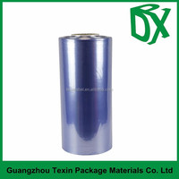good quality clear pvc shrink sleeve film heat plastic packaging film with different thickness