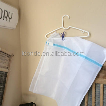 2018 Hot sale polyester mesh laundry bag