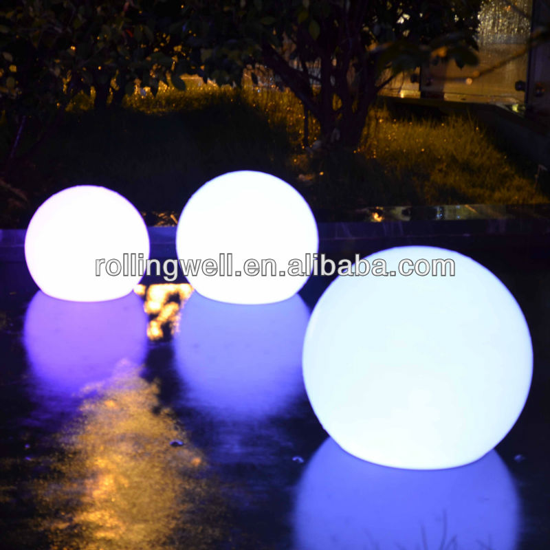 Full color changing RGB waterproof led ball/led floating lamp/led magic ball