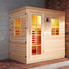 HS-SR25SN Hemlock luxury bathroom far infrared sauna cabin
