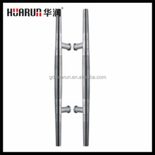 Double Sided Stainless Steel Commercial Exterior Glass Door Pull Handles