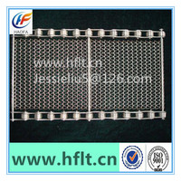 wire mesh belt/metal stainless steel wire mesh conveyor belt/balanced weave mesh belt