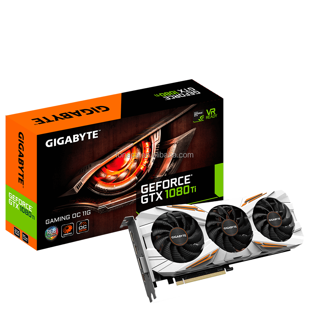 GIGABYTE Graphics Card GeForce GTX 1080Ti 11GB GDDR5X PCI Express 3.0 Direct X12 Gaming Video Card