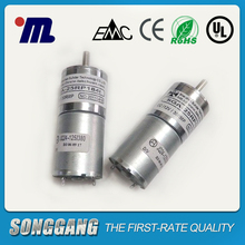 6 Volt 30rpm 1.4kg/cm Permanent Magnet DC Brush Motor PMDC Spur Gear Motor for Variable frequency air-condition /Napkin machine