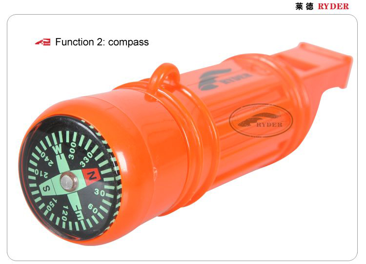 Wholesale High Quality Custom Colorful Outdoor Survival Hiking Emergency Sports Plastic Whistle