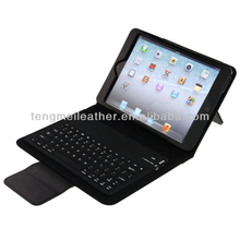 Hot Selling For iPad Mini Minion Case,Leather Case Cover With Bluetooth Wireless Keyboard For iPad Mini