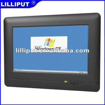 Lilliput Win CE OS RS232 7 Inch Touch Panel Mount Embedded Computer