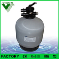 Factory commercial industrial swimming pool easy operate fiberglass silica sand filter for swimming pool