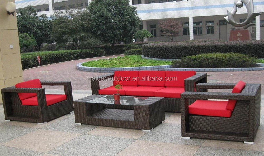 Heb new design rattan outdoor sofa patio furniture DH-N9050