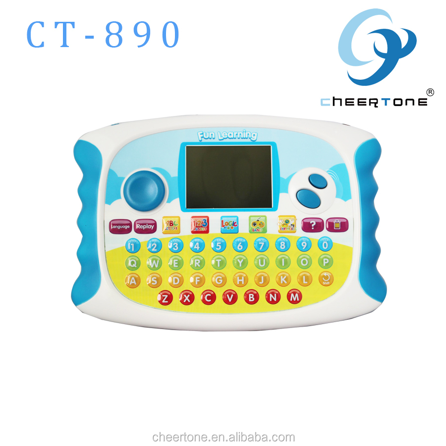 childrens english learning computer pad toys for kids