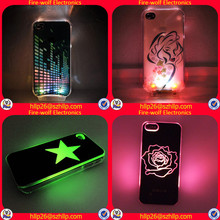 Popular fashion led cell phone cases Light UP Led Phone Case