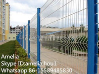 Hot Sale 3D Model Garden Fence/3D Welded Mesh Fence/Garden Fence Panels