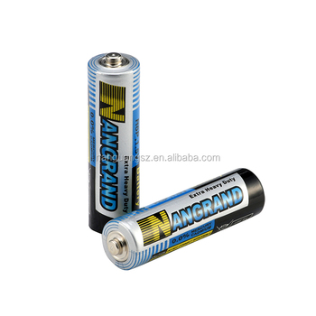 r6p um3 1.5v carbon battery aa
