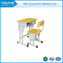 Professional modern classroom desk and chair with CE certificate
