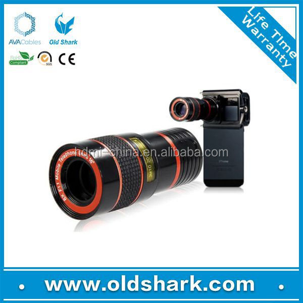 Universal Phone Lens 8X Zoom Mobile Phone Camera/Telescope Lens for Samsung Galaxy iphone
