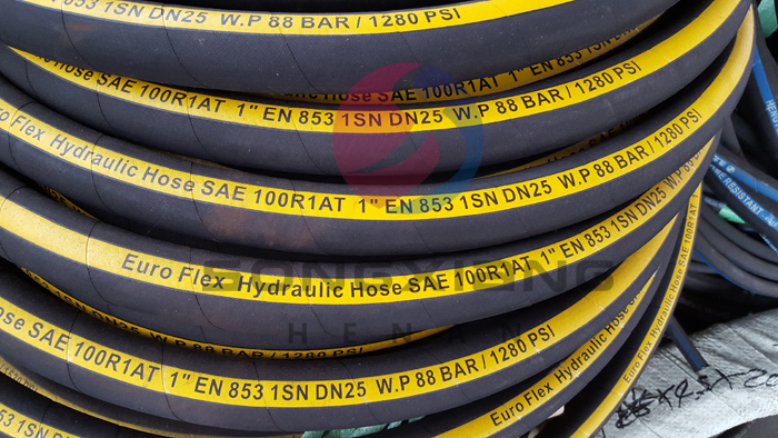 Hydraulic hose 1SN 2SN italy flexible high quality type SAE 100 R1