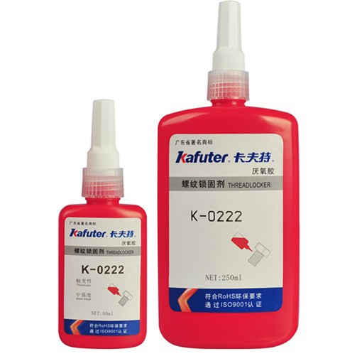 HOT SELL!!! Kafuter K-0222 Purple Screw Fastener Anaerobic Thread Sealant