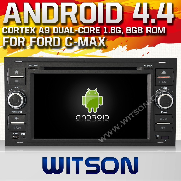 WITSON ANDROID 4.4 FOR FORD GALAXY CAR RADIO WITH RAM 8GB FLASH BLUETOOTH STEERING WHEEL SUPPORT