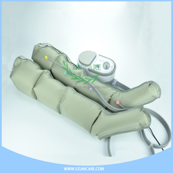Portable home use massager for knee legs and boots