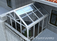 Inland/overseas insulated glass aluminium decorating sunrooms