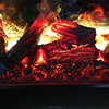 3D Water Steam Electronic Fireplace With
