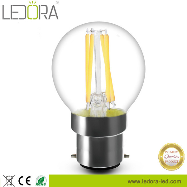 360 degree 4W Dimmable Filament b22 led bayonet light bulb 240v