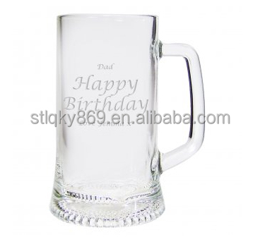 food grade glassware wholesale birthday souvenirs china birthday party items murano drinking glass wholesale tankard