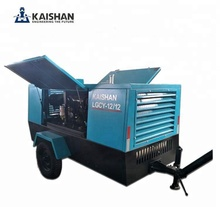 Diesel Portable Screw Air Compressor Used For Water Well Drilling Rig