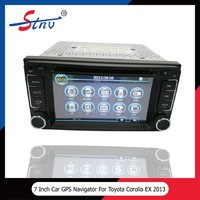 Win CE 6.0 Car Audio System For Corolla EX 2013 With 7 Inch GPS Navigation