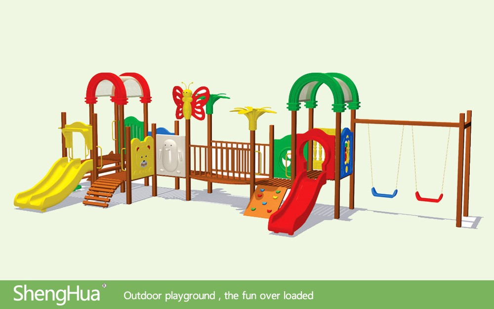 Sports Series train outdoor playground equipment LE.TY.013 amusement playground slide, outdoor playground structure for park