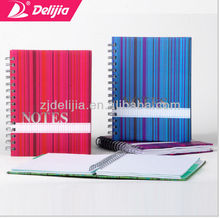 Hot selling Spiral Notebook With Transparent Pu Cover Calculator Mirror And Pen